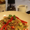 What's for lunch? Quick & Spicy Bulgur Salad