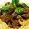 Mushroom Stroganoff Dairy & Gluten Free!