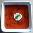Roasted Red Pepper Soup. DEGF.