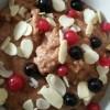 Healthy Chocolate Breakfast Bowl