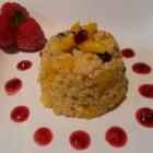 Mango Millet Dessert. Free From Dairy. Eggs. Gluten.