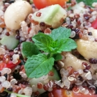 Tasty Tricolour Quinoa Salad (DEGF)