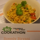 DEGF Speedy Chickpea Biryani... a challenge for you!!!