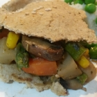Dairy & Gluten Free Vegetable Pie for Great British Pie Week