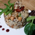 Quick Quinoa! (Yes... its Q of the A-Z Challenge)