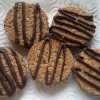 Cookies... Biscuits... Oaty Choco Drizzle Yummies! Dairy AND Gluten free!