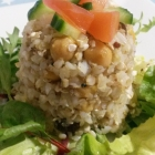Picnic Food! Yummy Buckwheat and Chickpea Salad