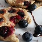 Bursting Blueberry Pancakes... Vegan and Gluten Free!