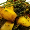 Back to School... Back to Blog! and Healthy Saag Aloo