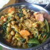 Chickpea, Sweet Potato and Spinach curry (Vegan & Gluten Free).