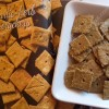 Cheesy Garlic-Herb Oat Crackers (Vegan & Free-From)