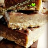 Chocolate Caramel Slice... Vegan & Free-From