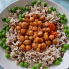 Chickpeas in less than ten minutes