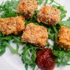 Crumbed Tofu with Barbecue Relish