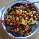 Roast Chickpeas with Vegetables