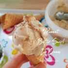 Peanut Butter Swirl Ice Cream