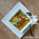 Vegetable & Tofu Broth