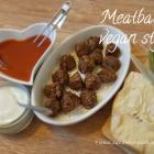 Meatballs...vegan style!