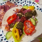 Amazing colourful falafel you will love and need