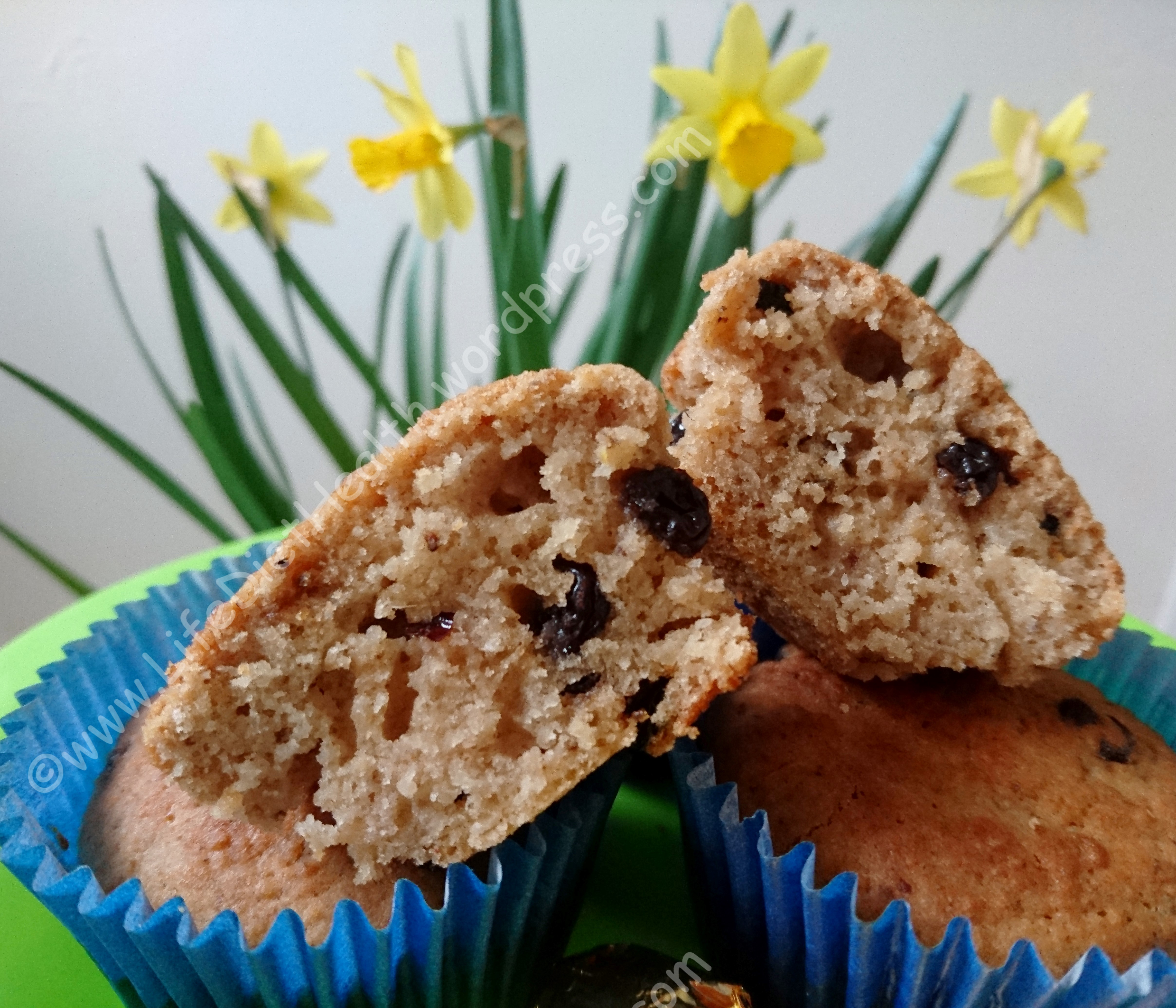 Hot Cross Bun Muffins (5)